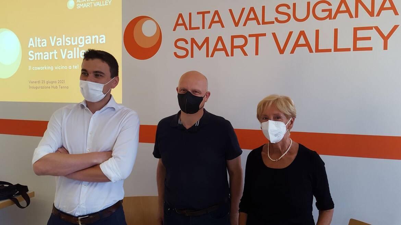 Da oggi è aperto Hub Tenna: il secondo coworking di Alta Valsugana Smart Valley